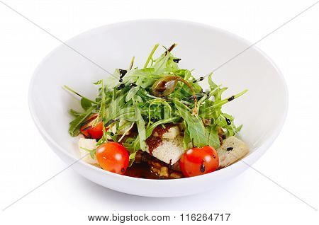 Warm Salad With Cutting Of Lamb
