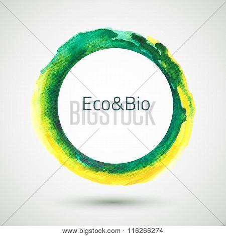 Watercolor-ring-green-yellow