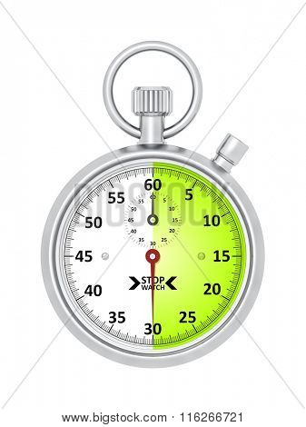 An image of a typical stopwatch 30 seconds
