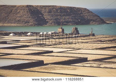 Salt Works Of Janubio, Lanzarote, Canary Islands