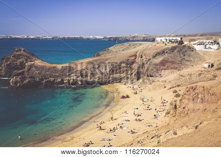 Papagayo Beach, Lanzarote, Canary Islands