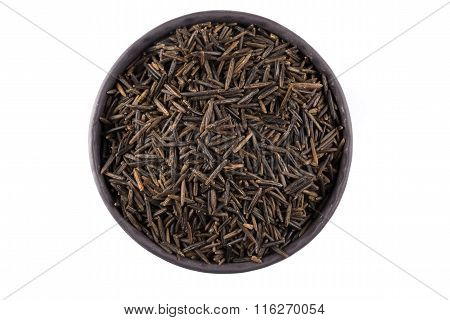 Wild Brown Rice In Bowl