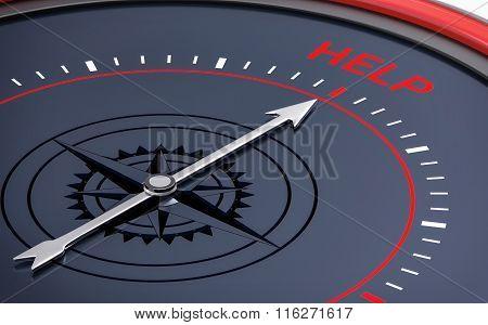 3D Compass. Help Word