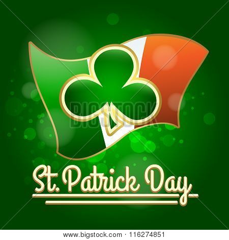 Saint Patricks Day Greeting Card