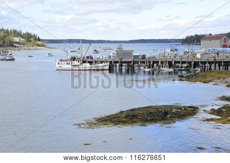 Port Clyde In Maine