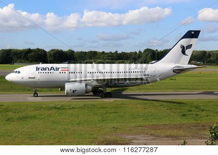 Iran Air Airbus A310 Airplane