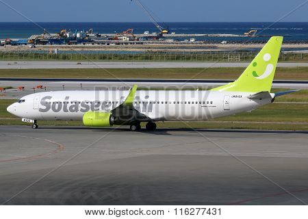 Solaseed Air Boeing 737-800 Airplane
