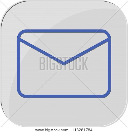 icon mail vector massage web