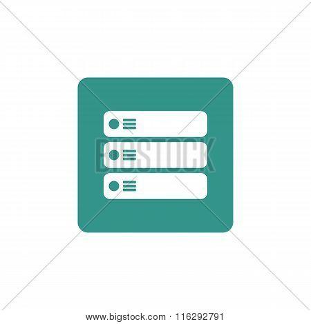 Server Icon On Button Style Background