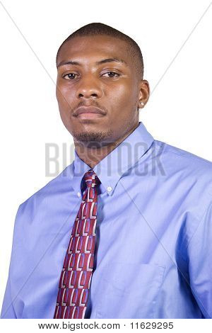 Handsome African American Businessman
