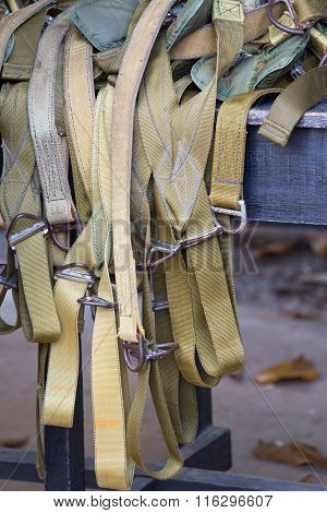 Training Parachute Suit Harness