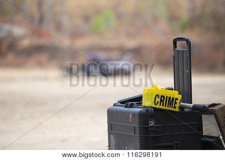 Crime Scene Tool Box