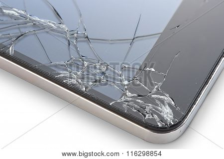 Cell Phone With Broken Display
