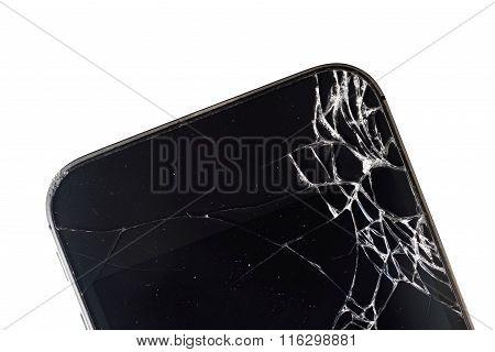 Phone With Broken Display