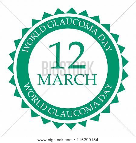 World Glaucoma Day.