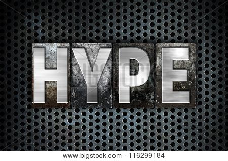 Hype Concept Metal Letterpress Type