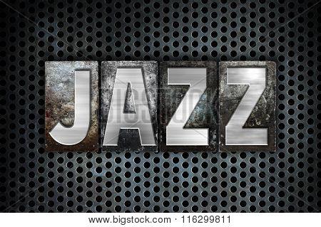 Jazz Concept Metal Letterpress Type