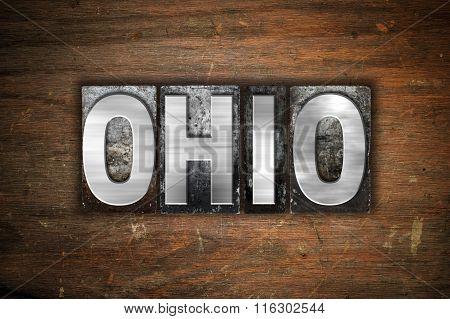 Ohio Concept Metal Letterpress Type