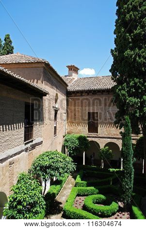 Lindaraja gardens, Alhambra Palace.