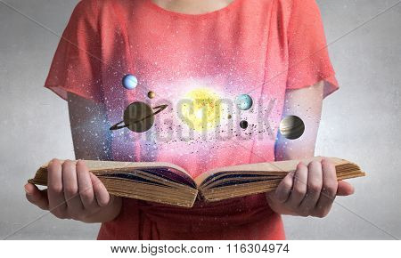 Explore space planets
