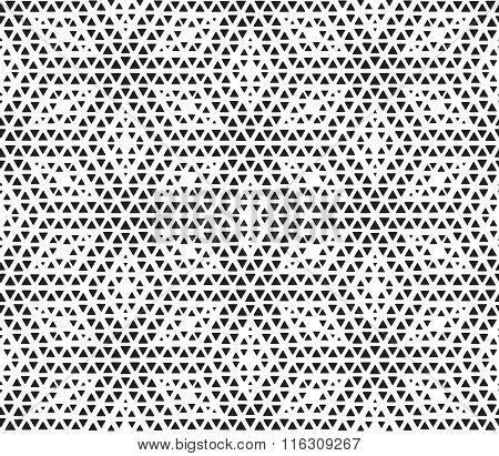 Hexagon dots seamless pattern