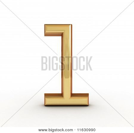 3d golden number 1