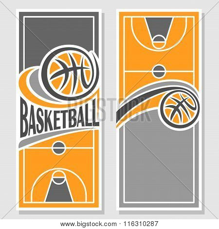 Background images for text on the  basketball theme