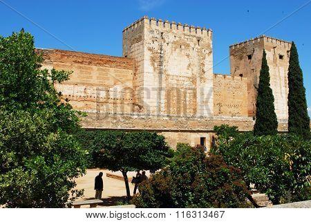 Alhambra Palace castle, Granada.