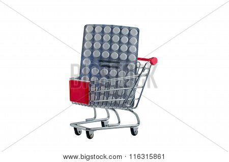 Shopping Carts With Pills