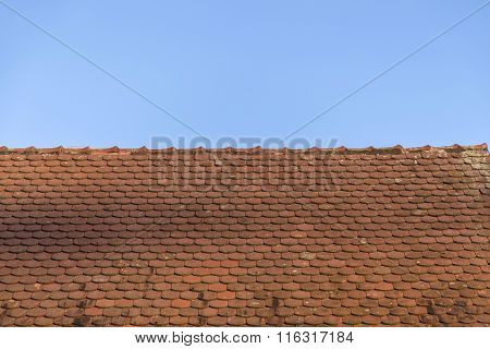 Roof With Red Tiles