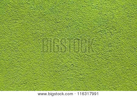 harmonic wall pattern in intensive green color