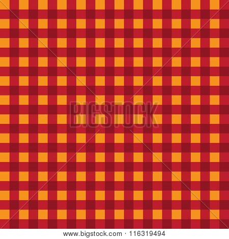 Pattern checkered. Seamless pattern. Vector.