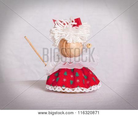Small Children Christmas Winter Puppet Figure