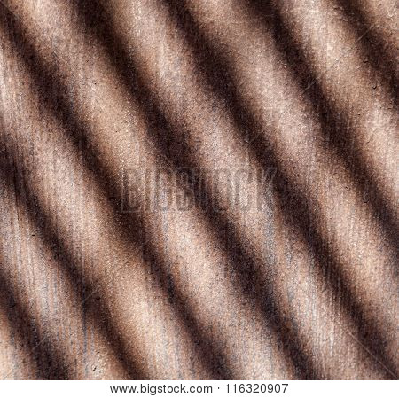 Pattern Of Rusty Chimney With Reflection Of Son