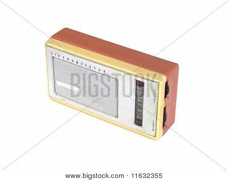 antiguo radio de transistores