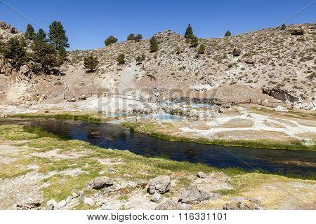 Hot Springs At Hot Creek Geological Site