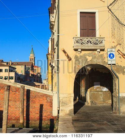 View Of Chioggia, Italy