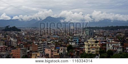Panorama of Kathmandu