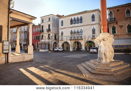 Stendardo Monument, Chioggia