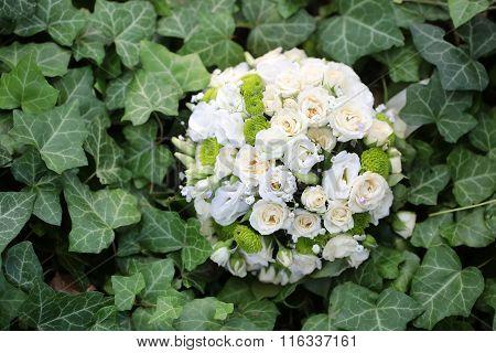 Fresh Pretty Wedding Bouquet