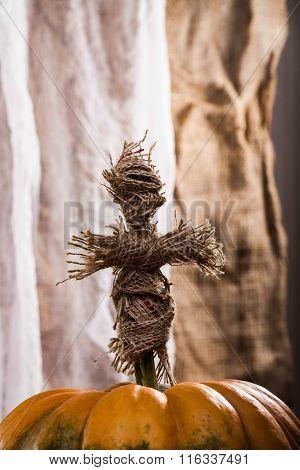Witching Doll On Cucurbita