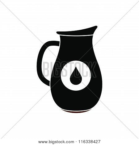 Honey crock black simple icon
