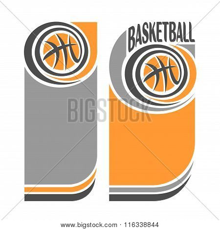 Abstract image  for text on the subject of basketball