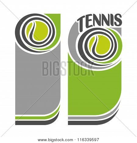Background images for text on the subject of tennis