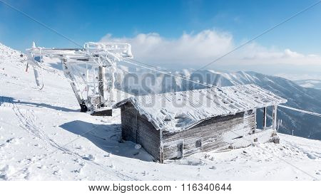Old Snowy Cableway