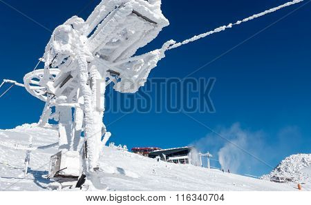 Ski Resort Jasna In Low Tatras, Slovakia