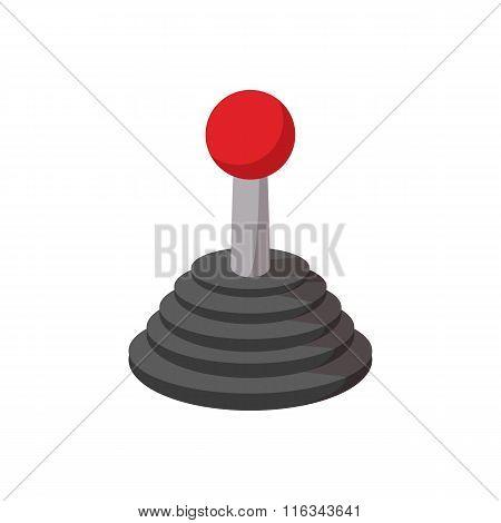 Joystick cartoon icon