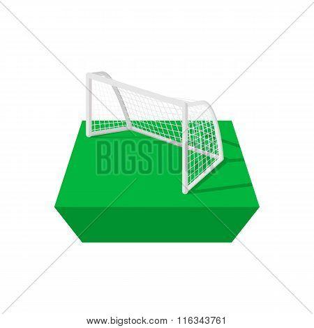 Football goal cartoon icon