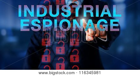 Competitor Pushing Industrial Espionage