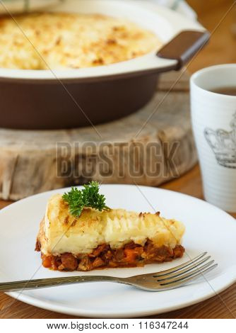 Cottage Pie with minced meat